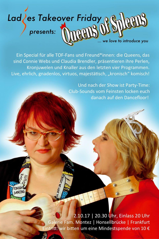 Ladies-TOF Special: Comedy mit Queens of Spleens!